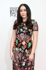 NOAH CYRUS at 2016 American Music Awards at The Microsoft Theater in Los Angeles 11/20/2016