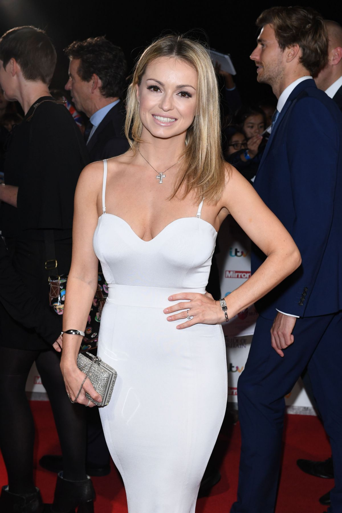 OLA JORDAN at Pride of Britain Awards 2016 in London 10/31/2016