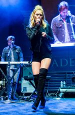 OLIVIA HOLT Performs at Citadel Outlets Tree Lighting in Los Angeles 10/05/2016