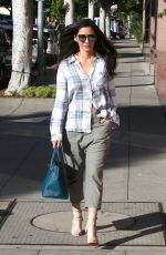 OLIVIA MUNN Out and About in Los Angeles 11/18/2016