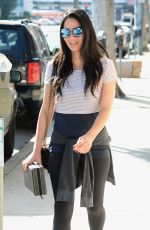 OLIVIA MUNN Out and About in West Hollywood 11/17/2016