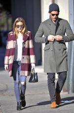OLIVIA PALERMO Out in New York 11/12/2016