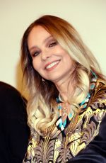 ORNELLA MUTI at a Press Conference at Hotel Ararat Park Hyatt i Moscow 11/05/2016