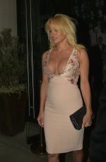 PAMELA ANDERSON at Catch LA in West Hollywood 11/05/2016