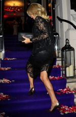 PAMELA ANDERSON at Global Gift Gala in London 11/19/2016