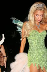 PARIS HILTON at a Halloween Party in Los Angeles 10/31/2016
