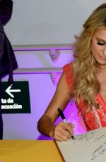 PARIS HILTON Visits a Children