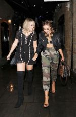 PERRIE EDWARDS and JESY NELSON Leaves Mews of Mayfair in London 11/19/2016