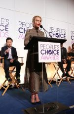 PIPER PERABO at People's Choice Awards Nominations in Los Angeles 11/15/2016