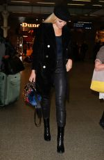 PIXIE LOTT at St Pancras Station in London 11/17/2016