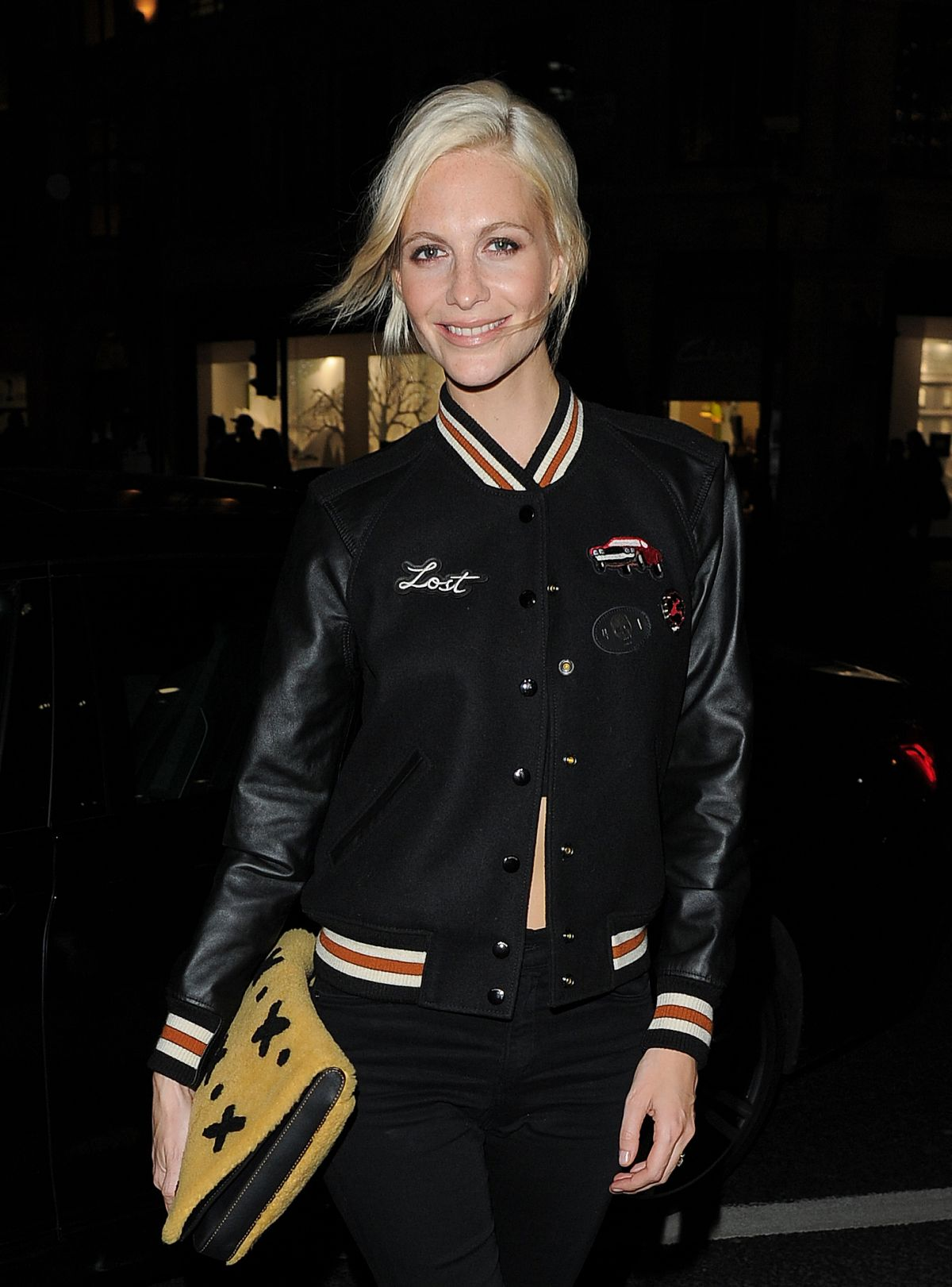 POPPY DELEVINGNE at Coach Fashion Launch Store Opening in London 11/24/2016