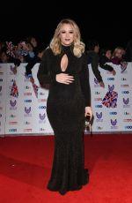 Pregnant KIMBERLEY WALSH at Pride of Britain Awards 2016 in London 10/31/2016