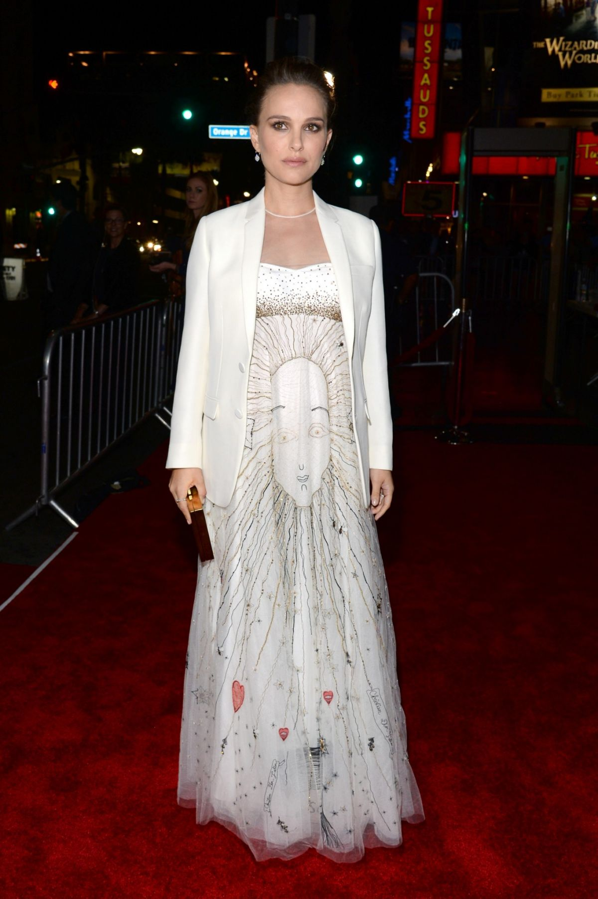 Pregnant NATALIE PORTMAN at AFI Fest 2016 Presented by Audi, Centerpiece Gala, Screening of