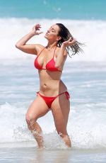 RACHAEL GOUVIGNON in Bikini at a Beach in Perth 11/07/2016