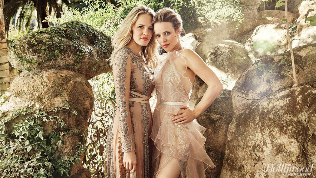 RACHEL and KAYLEEN MCADAMS in The Hollywood Reporter, 11/21/2016