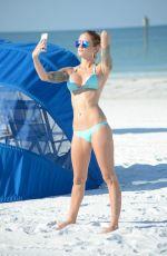 REAGAN LUSH in Bikini at a Beach in Miami 11/17/2016