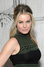 REBECCA ROMIJN at AOL Build Speaker Series in New York 11/18/2016