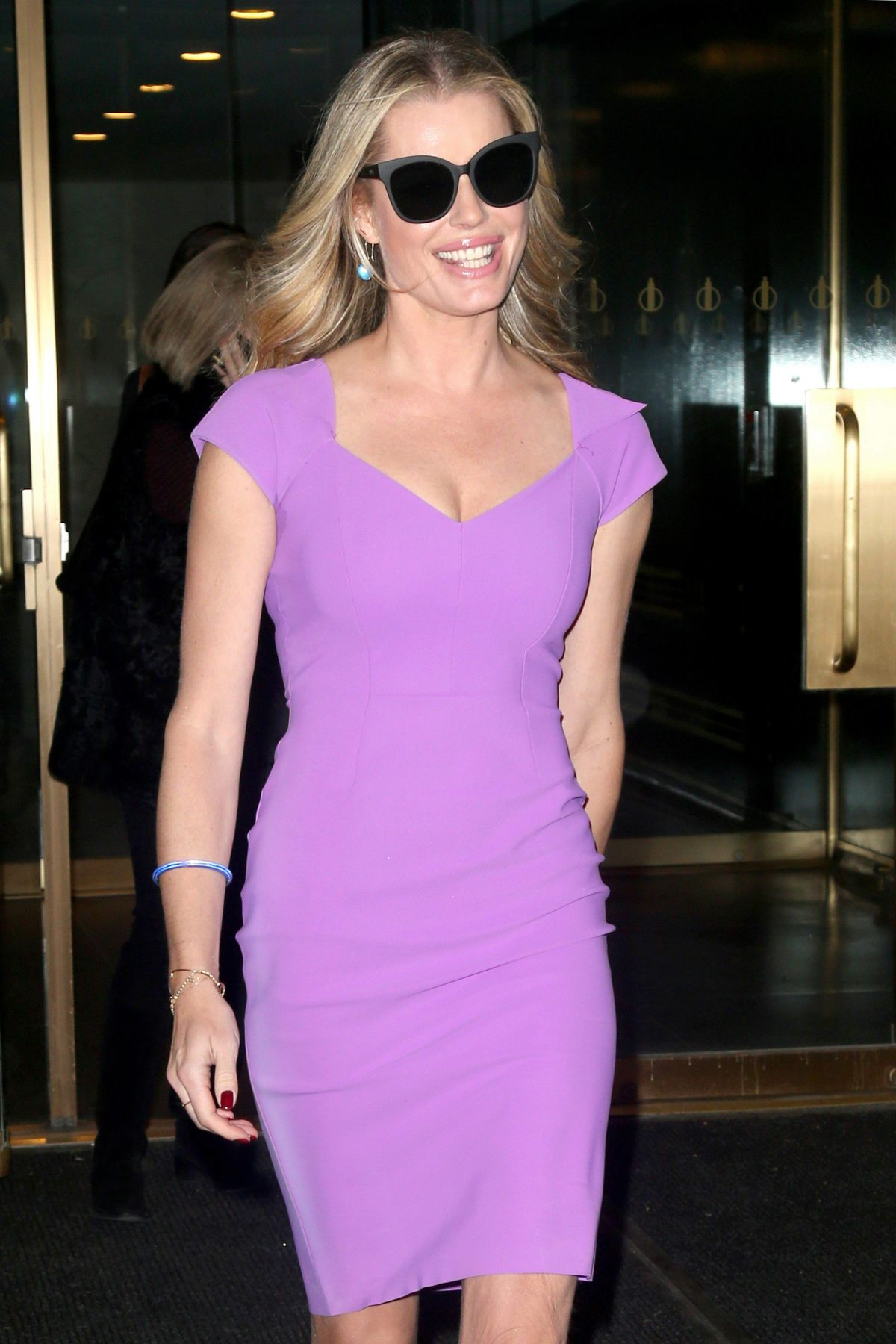 REBECCA ROMIJN at Today Show in New York 11/18/2016