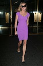 REBECCA ROMIJN Leaves Today Show in New York 11/19/2016