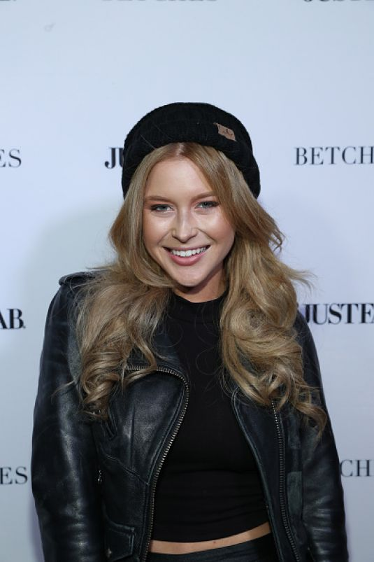 RENEE OLSTEAD at Betches x Justfab Event 11/15/2016