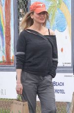 RENEE ZELLWEGER Out and About in Venice 10/30/2016