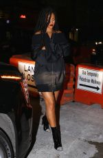RIHANNA Ninght Out in New York 10/29/2016