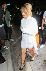 RITA ORA at Catch LA in West Hollywood 11/11/2016