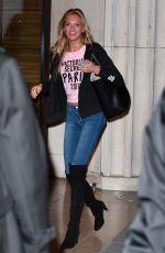 ROMEE STRIJD Arrives at Her Hotel in Paris 11/27/2016