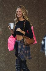 ROMEE STRIJD Arrives at Victoria
