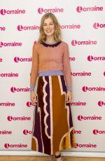 ROSAMUND PIKE at Lorraine TV Show in London 11/23/2016
