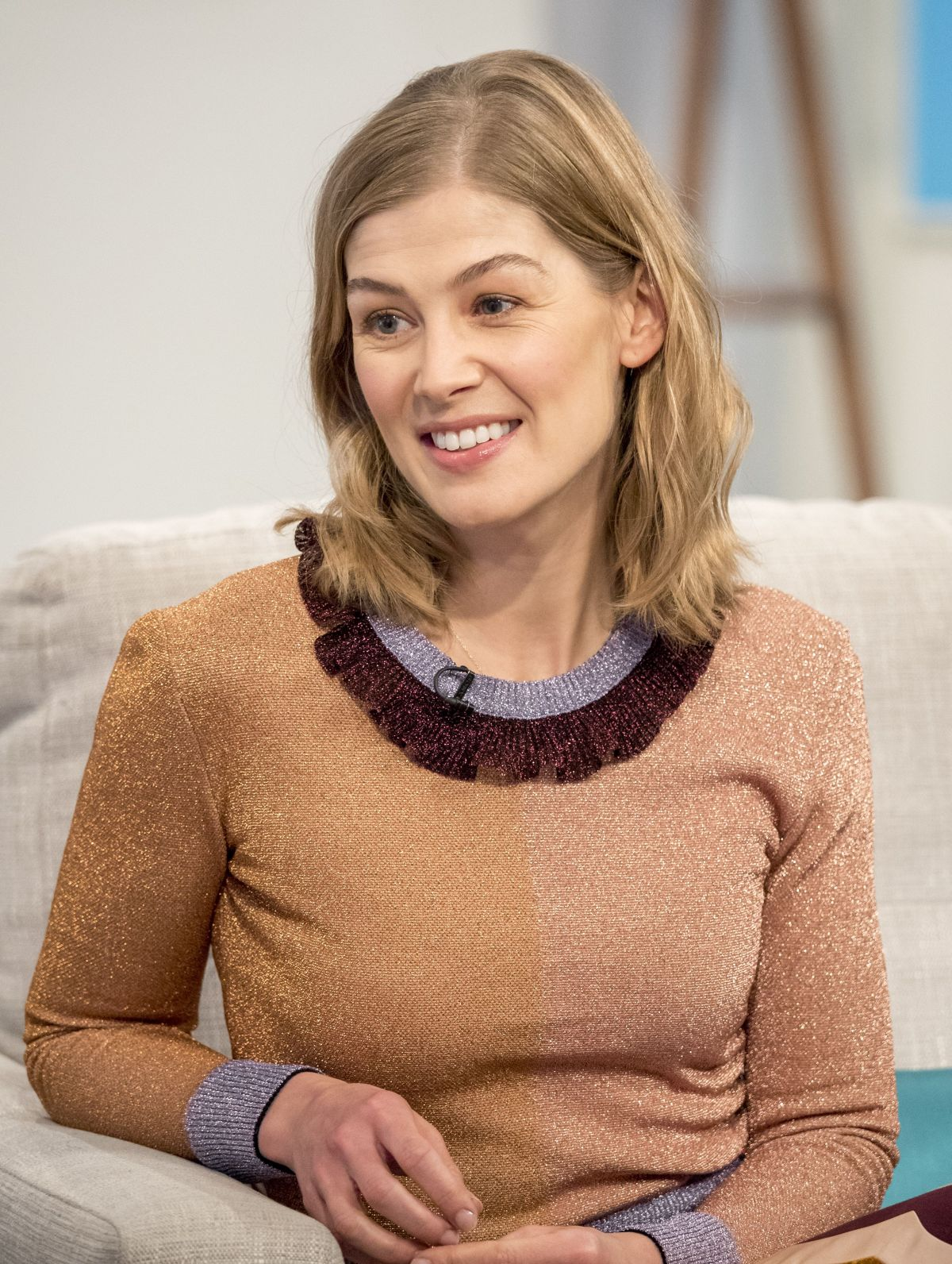 ROSAMUND PIKE at Lorra...