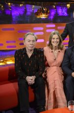 ROSAMUND PIKE on the Set of Graham Norton Show in London 11/11/2016
