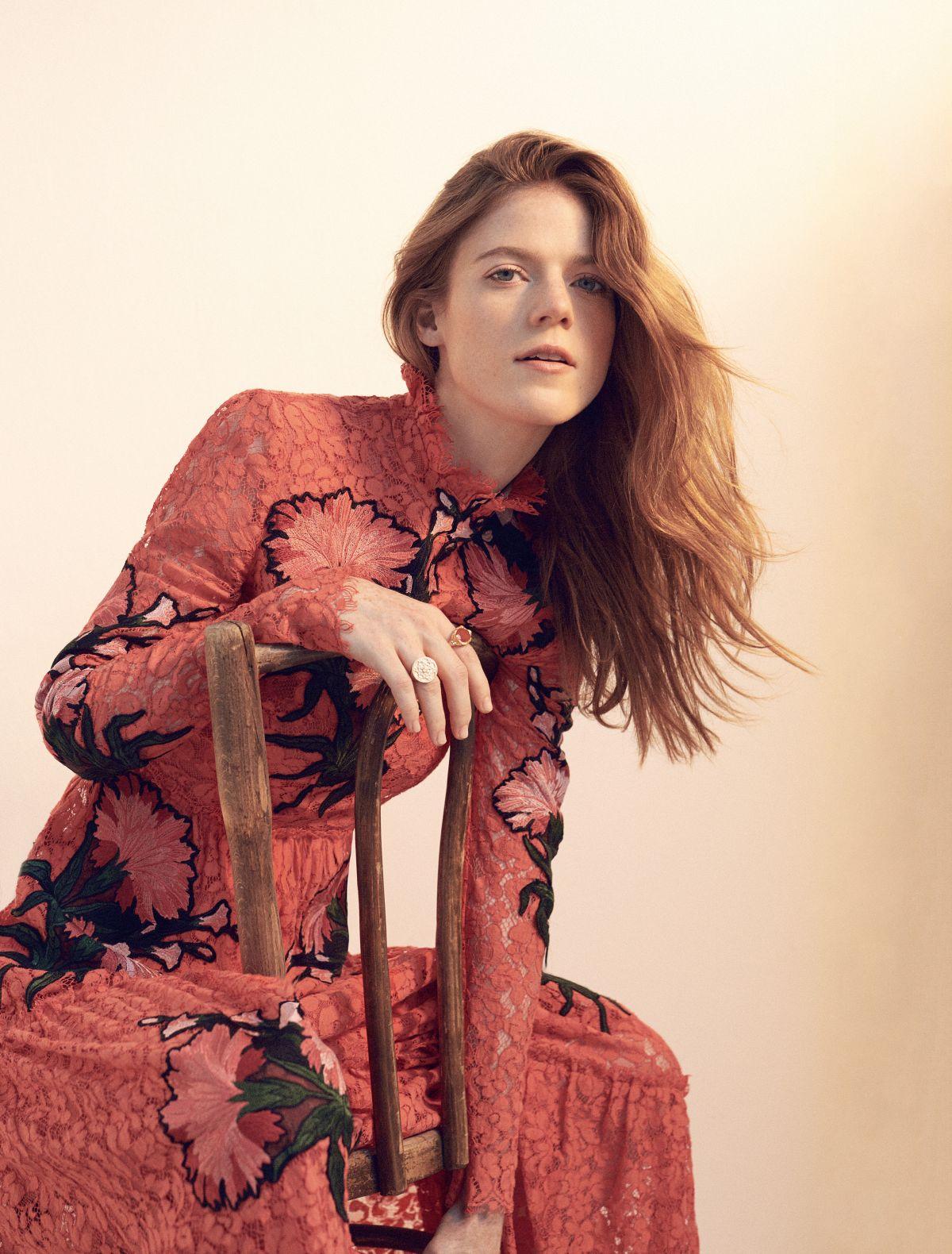 ROSE LESLIE in Stella Magazine, September 2016
