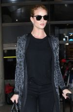 ROSIE HUNTINGTON-WHITELEY at LAX Airport in Los Angeles 11/03/2016