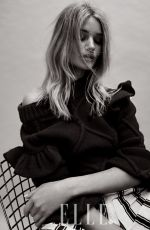 ROSIE HUNTINGTON-WHITELEY in Elle Magazine, Korea November 2016