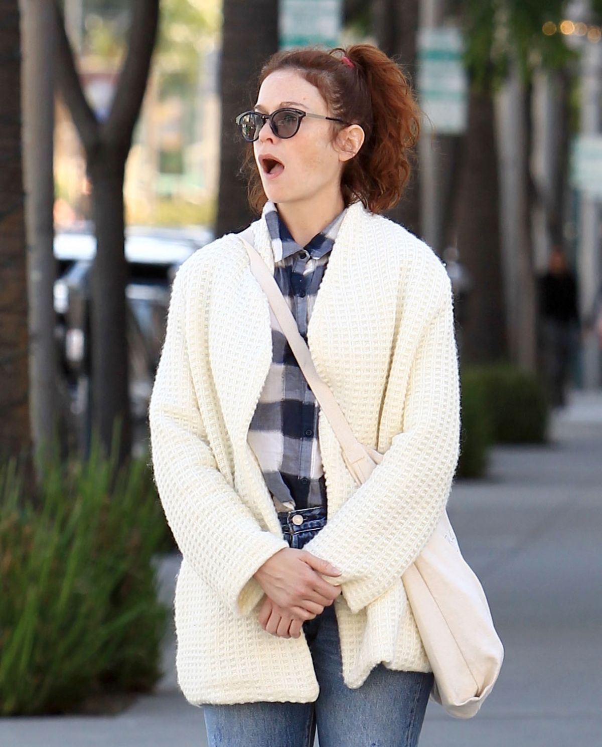 RUTH WILSON Out Shopping in Beverly Hills 11/23/2016