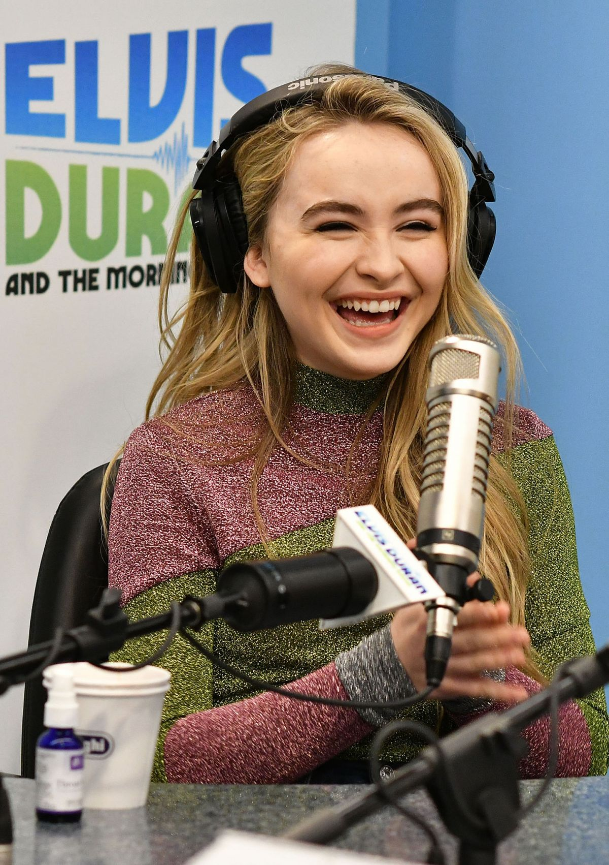 SABRINA CARPENTER at Elvis Duran Z100 Morning Show in New York 11/21 ...