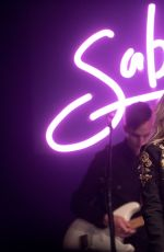 SABRINA CARPENTER Performs at Highline Ballroom in New York 11/21/2016