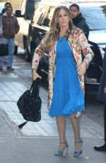 SARAH JESSICA PARKER at The View in New York 11/26/2016