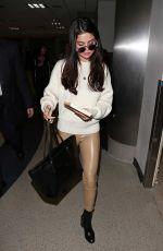 SELENA GOMEZ at Los Angeles International Airport 11/28/2016