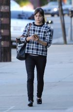 SELMA BLAIR Out and About in Studio City 11/18/2016