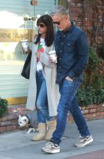 SELMA BLAIR Out for Coffee in West Hollywood 11/24/2016