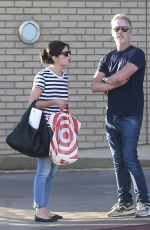 SELMA BLAIR Out Shopping in Los Angeles 11/04/2016