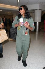 SERENA WILLIAMS at LAX Airport in Los Angeles 11/11/2016