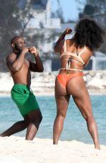 SERENA WILLIAMS in Bikini at  Beach in Bahamas 11/09/2016