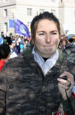 SHAILENE WOODLEY Marching in Protest of the South Dakota Pipeline in Washington 11/27/2016