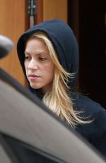 SHAKIRA Out and About in Barcelona 11/25/2016