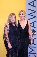 SHARON STONE at 50th Annual CMA Awards in Nashville 11/02/2016