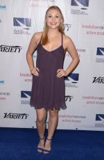 SHELBY WULFERT at TMA Heller Awards in Beverly Hills 11/10/2016