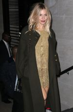 SIENNA MILLER at Letters to Andy Warhol Exhibition Opening in New York 11/14/2016